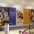 AEON Credit indoor Hoarding