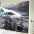 Hyundai Genesis Wall Poster sign