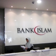 Bank Islam Counter sign