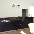 JEEP Logo counter sign