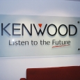 KENWOOD-counter acrylic sign