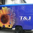 T&J Electric lorry